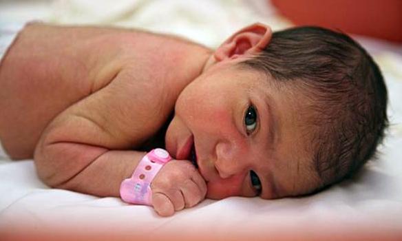 Опухоль у новорожденного