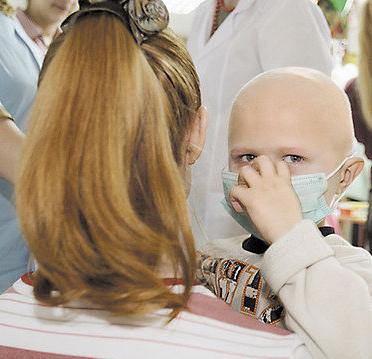 Ребенок болен раком