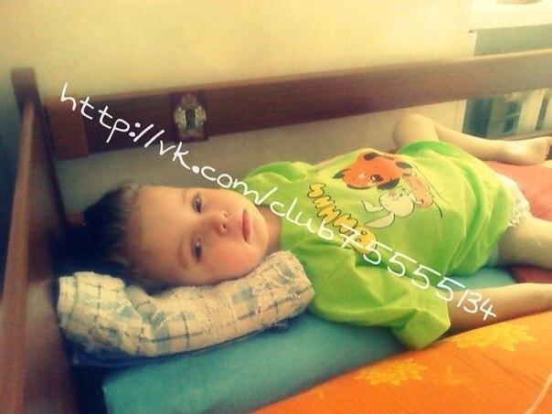 Самборская Алина, 3 года, ХОРДОМА (РАК)