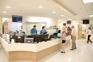 Фото клиники вестибюль